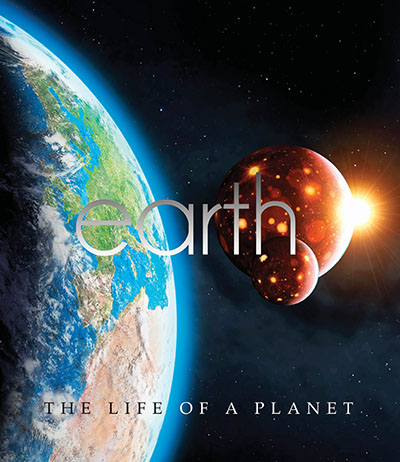 Earth: The Life Of A Planet - Jacket