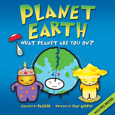 Basher Science: Planet Earth - Jacket
