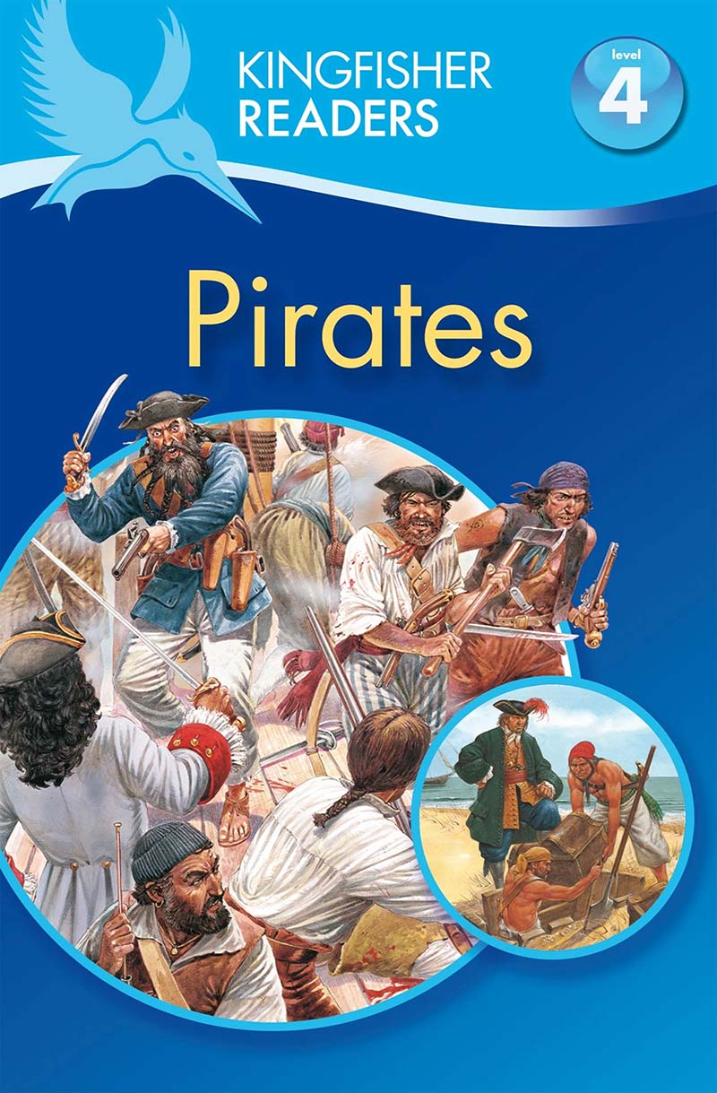 Kingfisher Readers: Pirates (Level 4: Reading Alone) - Jacket