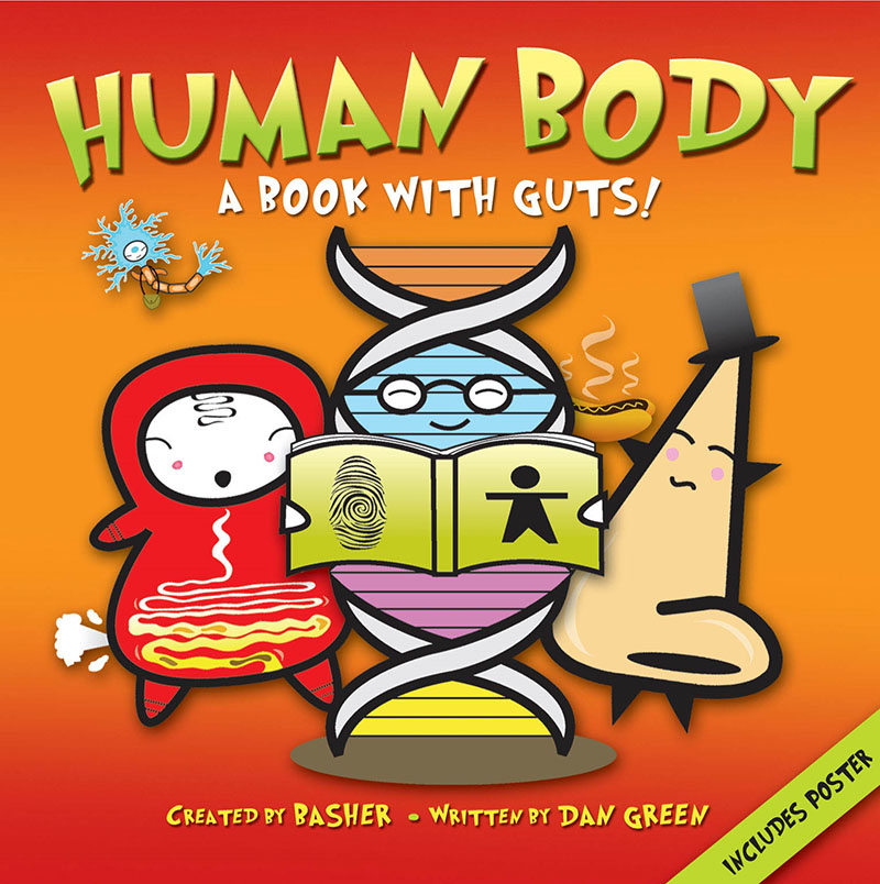 Basher Science: Human Body - Jacket