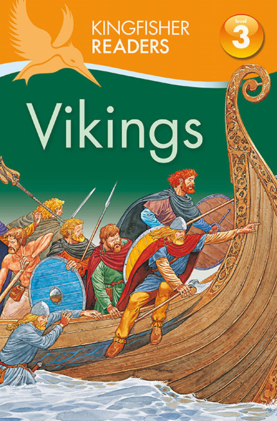 Kingfisher Readers: Vikings (Level 3: Reading Alone with Some Help) - Jacket