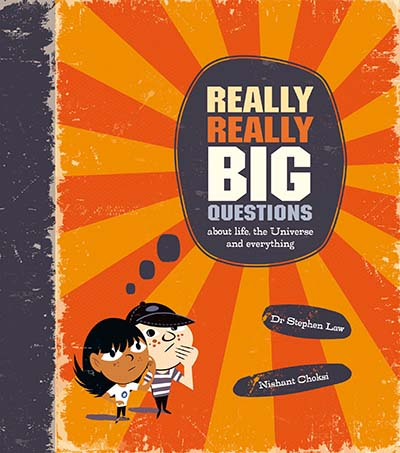 Really Really Big Questions - Jacket