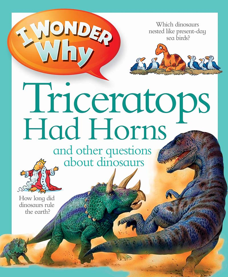 I Wonder Why Triceratops Had Horns - Jacket
