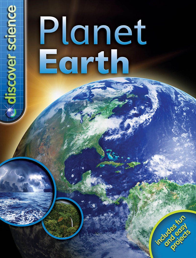 Discover Science: Planet Earth - Jacket
