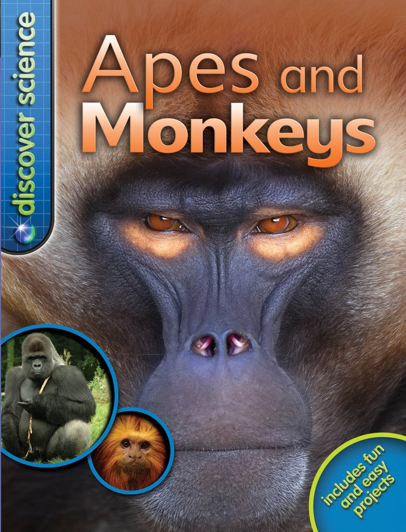 Discover Science: Apes and Monkeys - Jacket