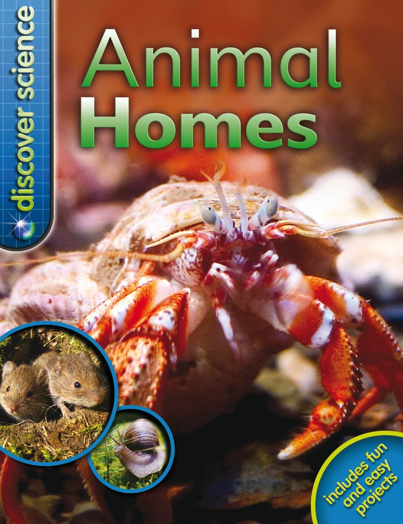 Discover Science: Animal Homes - Jacket