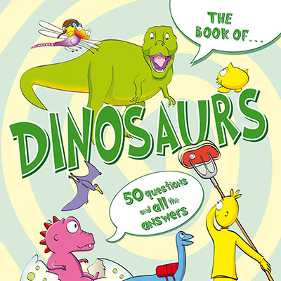 The Book Of...Dinosaurs - Jacket