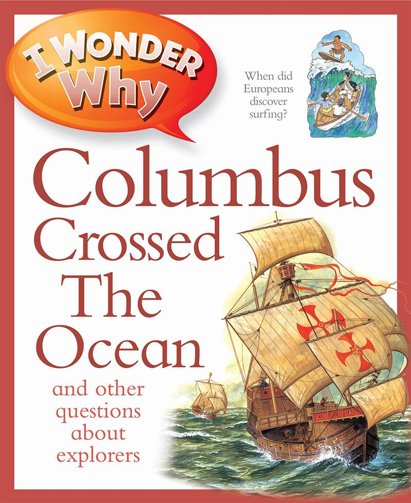 I Wonder Why Columbus Crossed The Ocean - Jacket