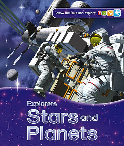 Explorers: Stars and Planets - Jacket