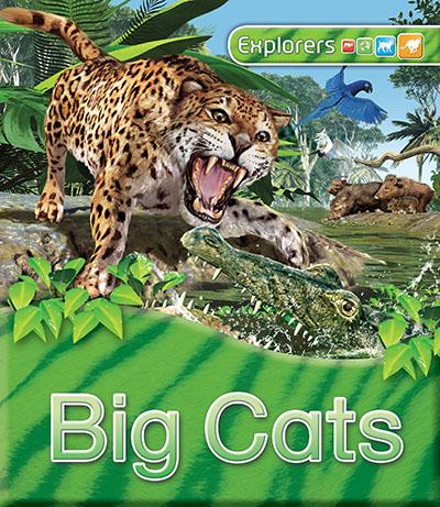 Explorers: Big Cats - Jacket
