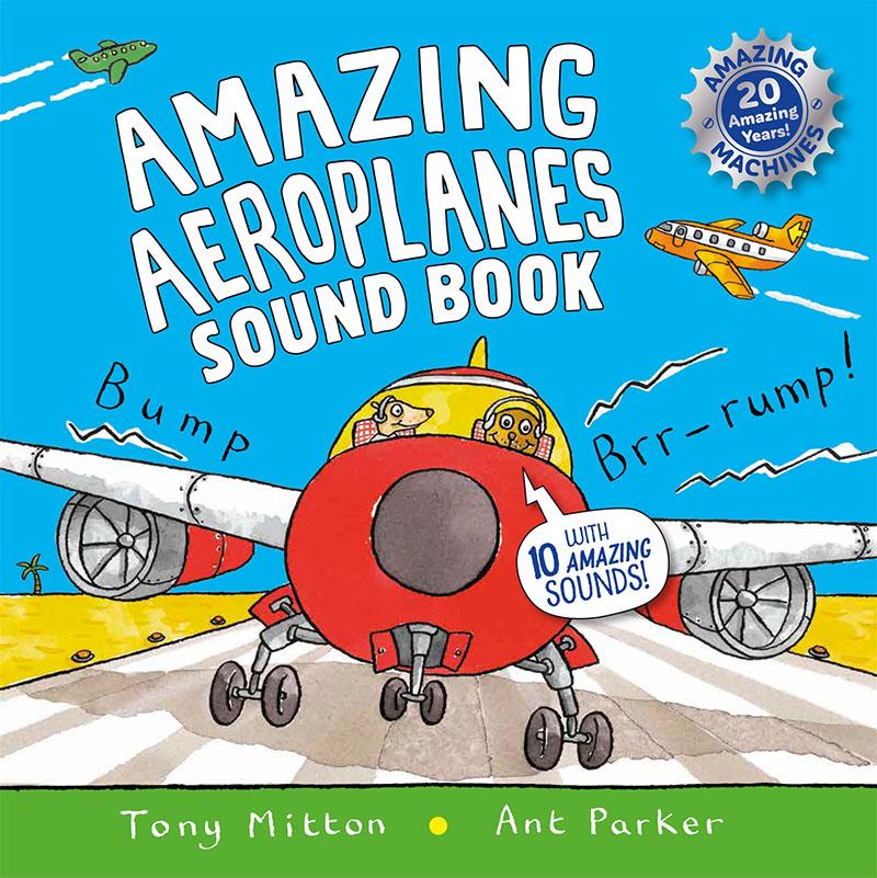 Amazing Aeroplanes Sound Book - Jacket