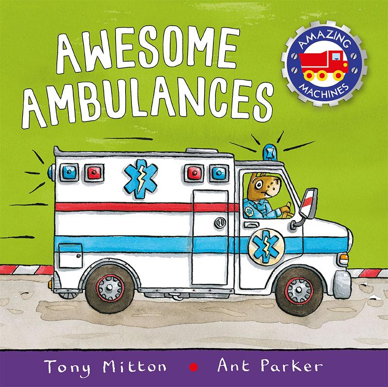 Amazing Machines: Awesome Ambulances - Jacket