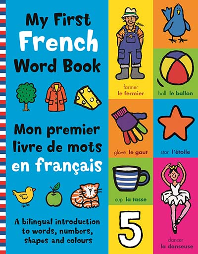 My First French Word Book - Jacket