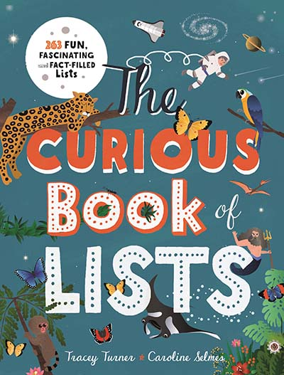 The Curious Book of Lists - Jacket
