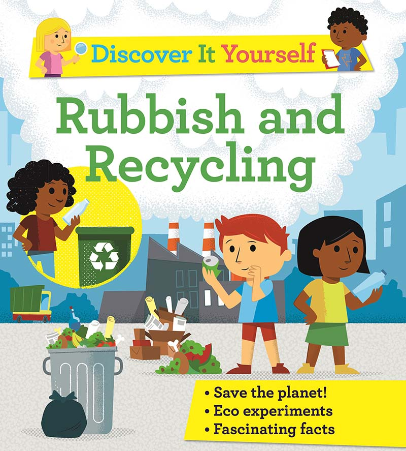 Discover It Yourself: Rubbish and Recycling - Jacket