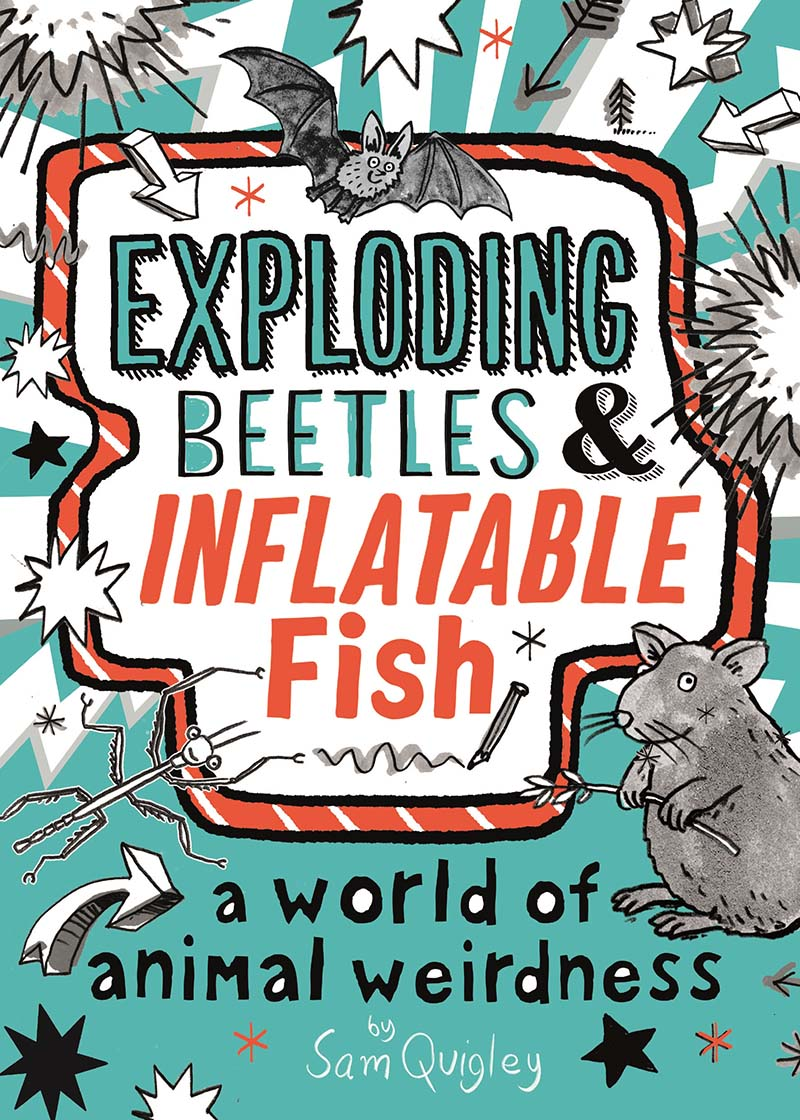 Exploding Beetles and Inflatable Fish - Jacket