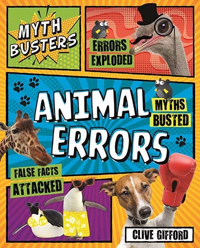 Myth Busters: Animal Errors - Jacket