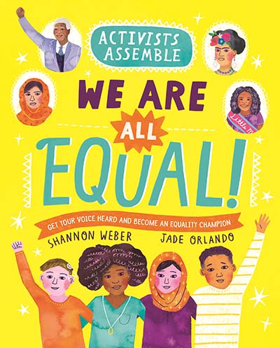 Activists Assemble: We Are All Equal! - Jacket