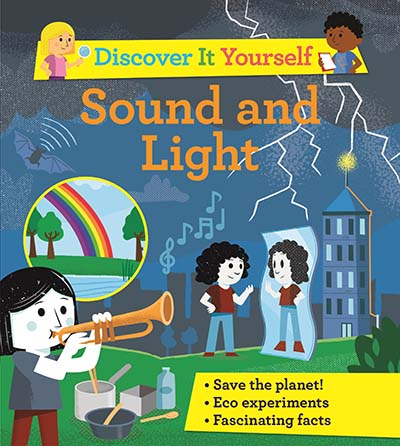 Discover It Yourself: Sound and Light - Jacket