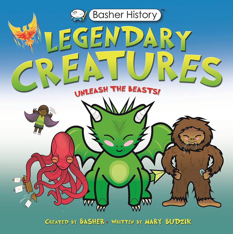 Basher History: Legendary Creatures - Jacket