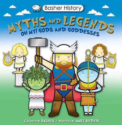 Basher Myths and Legends - Jacket