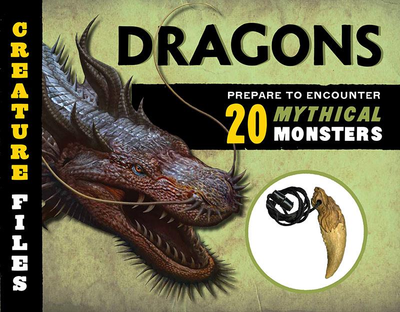 Creature Files: Dragons - Jacket