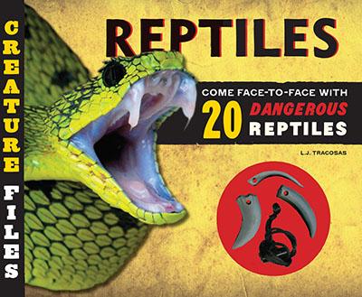 Creature Files: Reptiles - Jacket