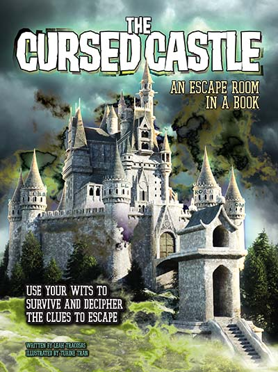The Cursed Castle: An Escape Room in a Book - Jacket