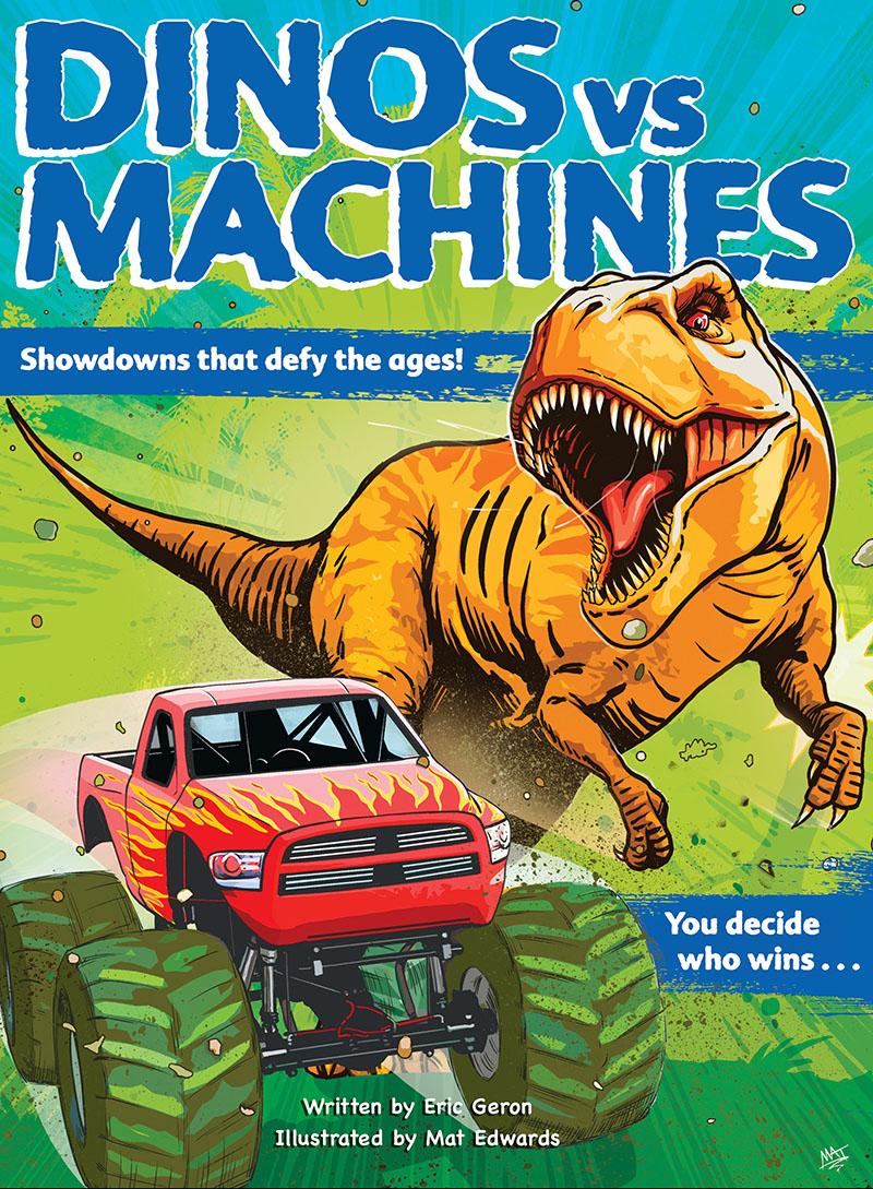 Dinos vs. Machines - Jacket