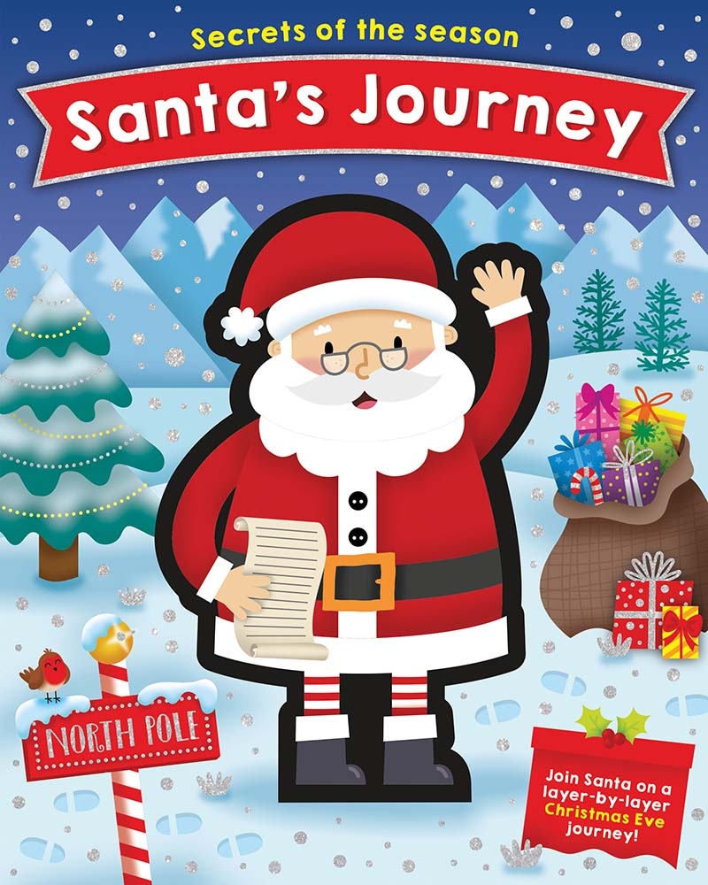 Secrets of the Season: Santa's Journey - Jacket