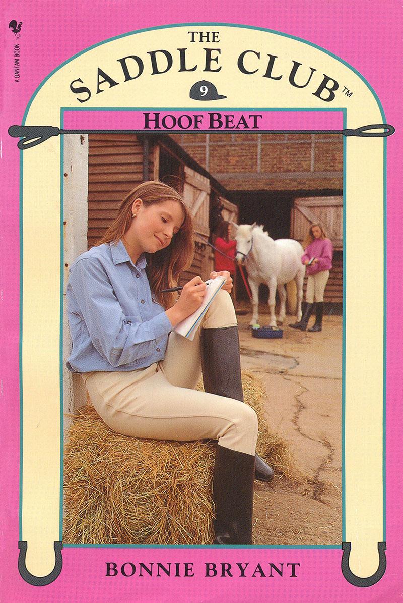 Saddle Club Book 9: Hoof Beat - Jacket