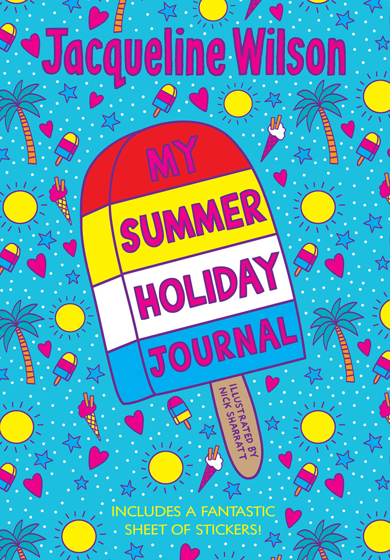 My Summer Holiday Journal - Jacket