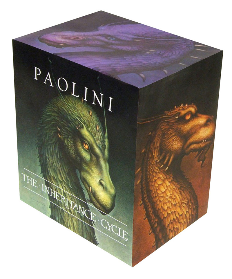 Inheritance Cycle 4 Book Boxed Set - Jacket