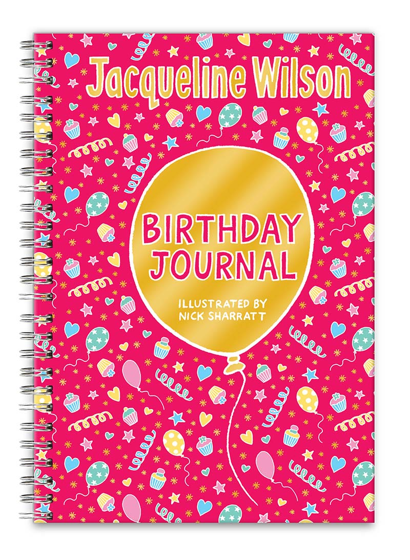 Jacqueline Wilson Birthday Journal - Jacket