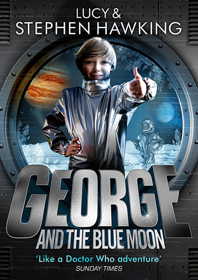 George and the Blue Moon - Jacket
