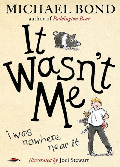 It Wasn't Me! - Jacket