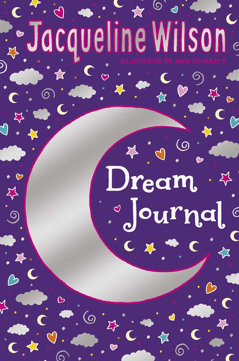 Jacqueline Wilson Dream Journal - Jacket
