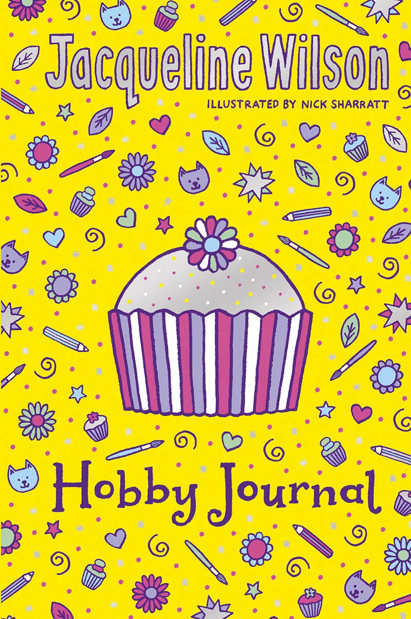 Jacqueline Wilson Hobby Journal - Jacket