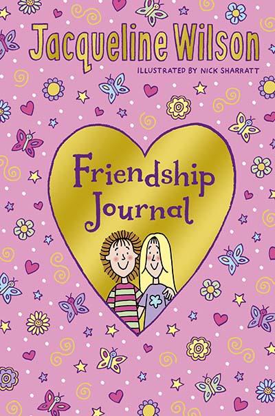 Jacqueline Wilson Friendship Journal - Jacket