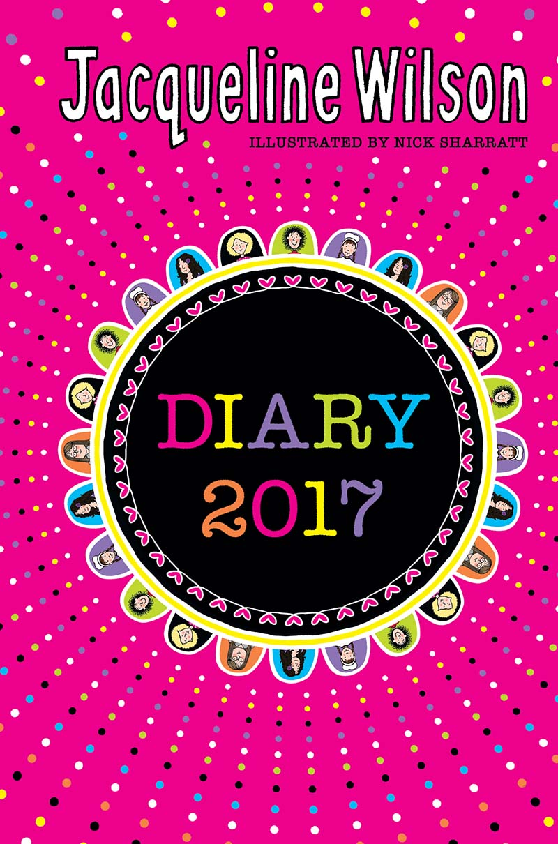 The Jacqueline Wilson Diary 2017 - Jacket