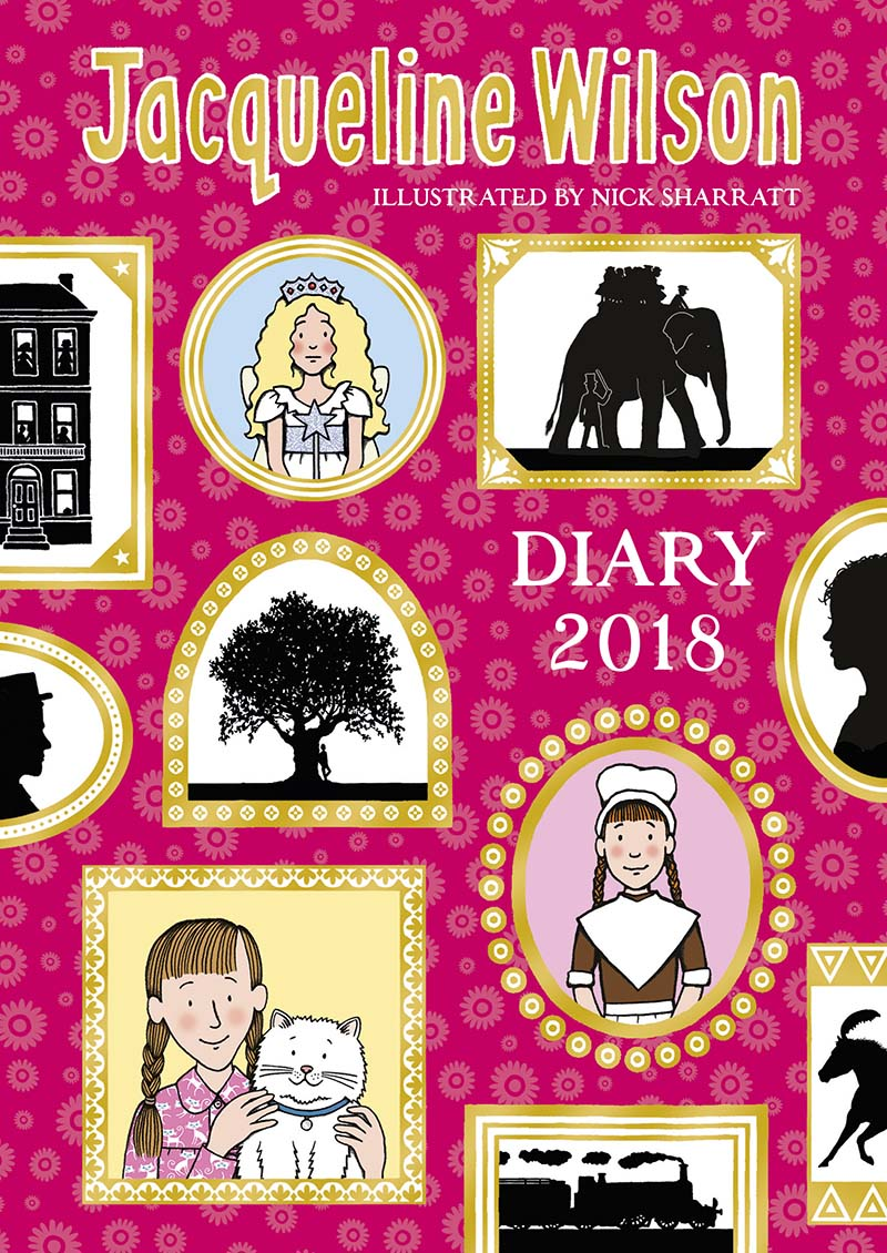 The Jacqueline Wilson Diary 2018 - Jacket