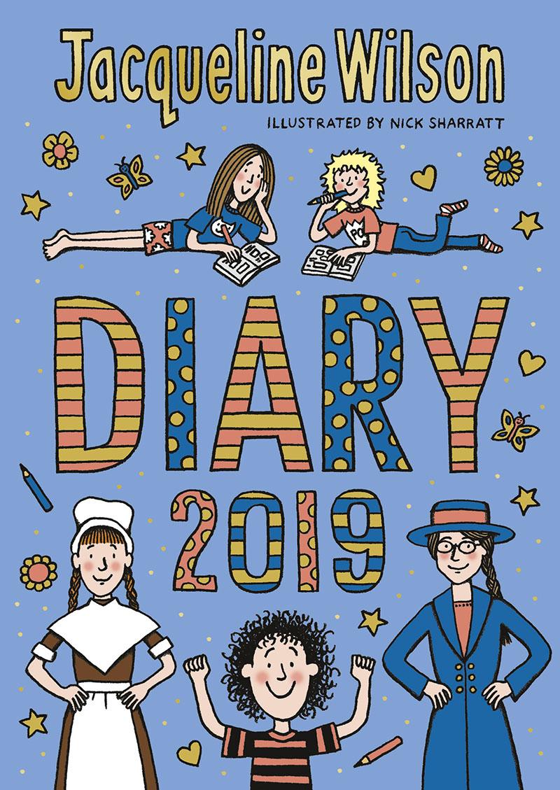 The Jacqueline Wilson Diary 2019 - Jacket