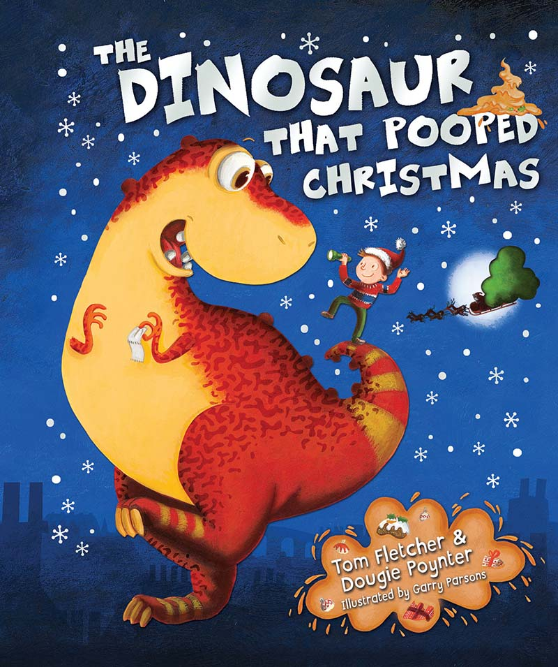 The Dinosaur That Pooped Christmas! - Jacket
