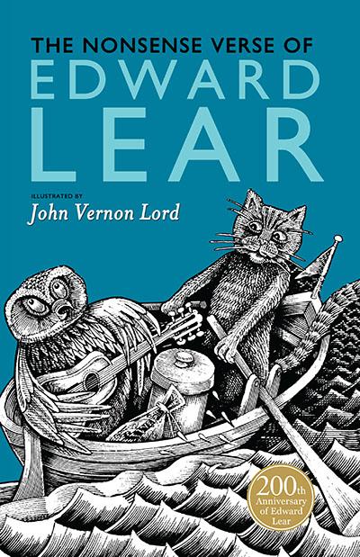 The Nonsense Verse of Edward Lear - Jacket