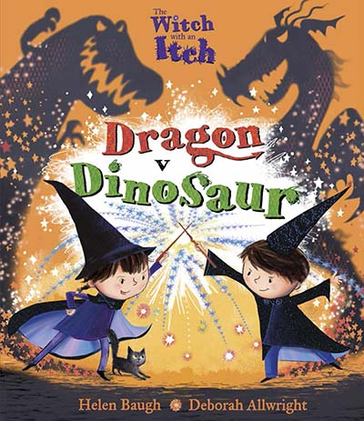 The Witch with an Itch: Dragon v Dinosaur - Jacket