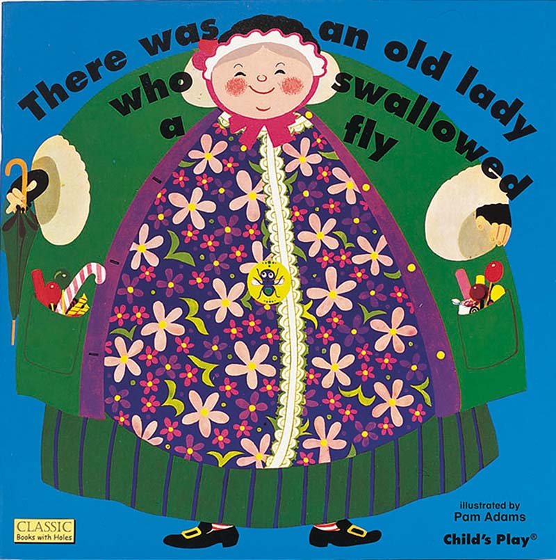 There Was an Old Lady Who Swallowed a Fly - Jacket