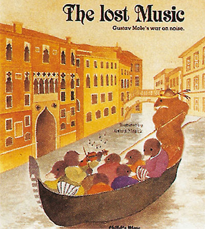 The Lost Music - Jacket