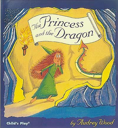 The Princess and the Dragon - Jacket