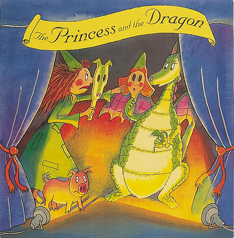 The Princess and the Dragon Mask Book - Jacket