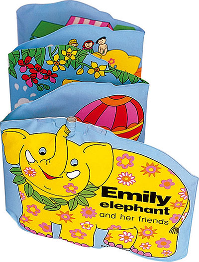Emily the Elephant and Her Friends - Jacket
